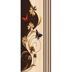 Butterfly Printed Door Skin