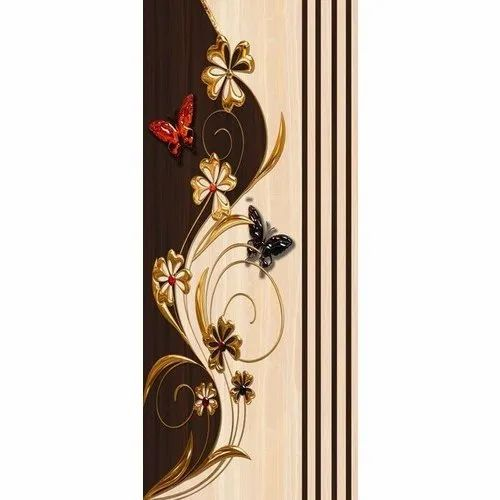 Butterfly Printed Door Skin