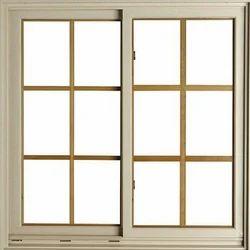 Modern Gray Aluminum Windows, For Residential