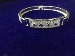 Gents Fancy Silver Bracelet