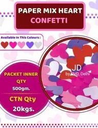 Party Paper Heart Confetti  (20 KG)