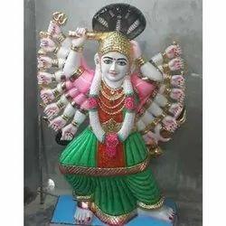 Mata Saptashrungi Marble Statue
