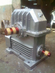 14 INCH WORM REDUCTION GEARBOX