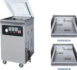 DZ-400 SINGLE CHAMBER VACUUM PACKAGING MACHINE