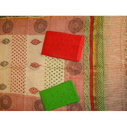 Aaditri Clothing Dress Material Chanderi Suits