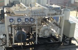 ARTANA 5 HP High Pressure Biogas Compressor, Discharge Pressure: 200 Bar, Maximum Flow Rate (CFM): Varies