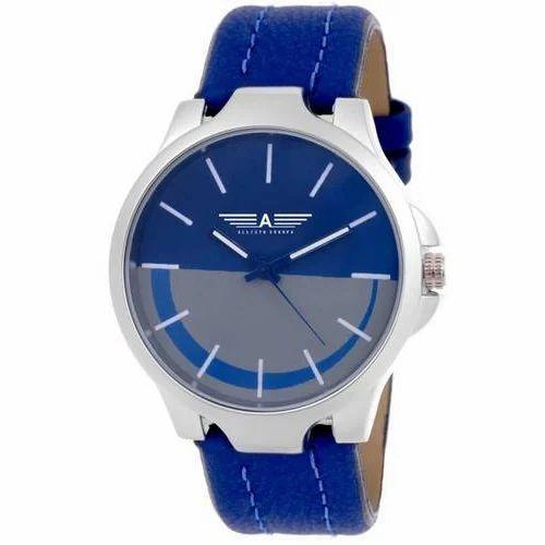 Blue Stylish Men Watch
