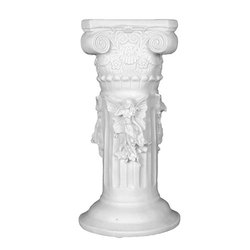 White Marble Decorative Pillar