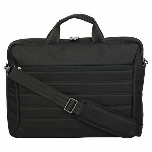 Kingsons Black Office Laptop Briefcase