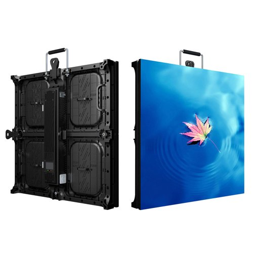 Aluminum Rectangle P6 Marriage LED Screen, Display Size: 567x576mm