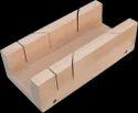 Mitre Box Wooden Square