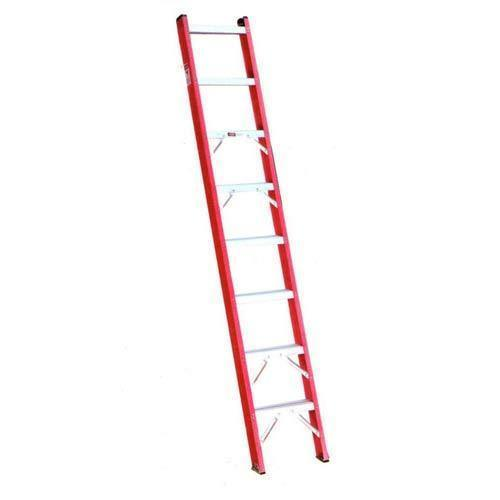 Red Frp Wall Support Ladder Skl Red Frp Wall Support