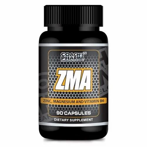 Zinc,Magnesium And Vitamin B 6 ZMA 90 Capsules, Coachs Pharma