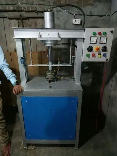 Hydraulic Semi-Automatic Single Die Paper Plate Making Machine