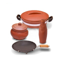 Combo Offer Handi With Clay Water Bottle