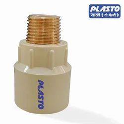 Plasto CPVC Brass Reducer MTA