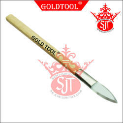 Gold Tool Agate Burnisher Sword