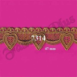 Designer And Elegant Gold Zari Lace From Fashion Plus