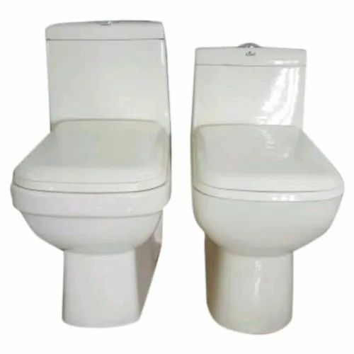 Bhumi Incorporation White Ceramic Floor Mounted Toilet Seat, For Bathroom Fittings
