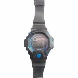 Round Digital Wrist Watch