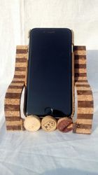 Cork Mobile Holder