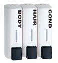 I9 White/black Manual Soap Dispenser