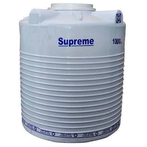 supreme plastic water tank at rs 6000 piece supreme water tanks