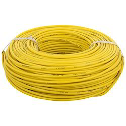 Yellow 2.5 mm PVC Insulated Copper Wire