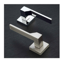Chrome Designer Mortise Handles