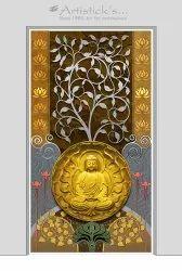 Wall Art Buddha
