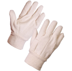 Safety Cotton Drill Gloves