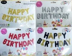 Happy Birthday Foil Balloons For Birthday Party
