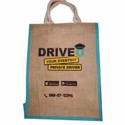 Brown Jute Promotional Bags, Capacity: 5 Kg