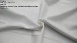 100% PLAIN BAMBOO THICK FABRIC