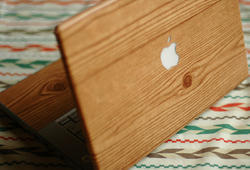 Wooden Laptop Skins