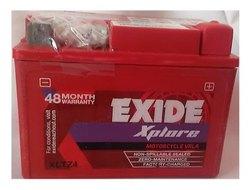 Capacity: 3AH EXIDE XLTZ4 BATTERY FOR BIKE