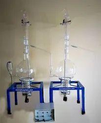 All Glass Double Distillation Unit Cap. 5000 mL