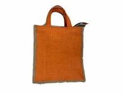 Plain Biodegradable Jute Fashion Bag, Capacity: 7 Kg