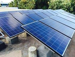 Solar Power Plant On Grid System
