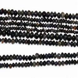 Iolite Button Shape Plain Beads