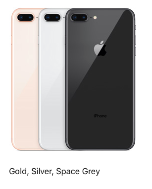Iphone 8 Plus 256gb Gold Silver Space Grey At Rs 91110 Unit