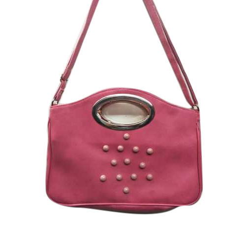 aa9cede04 Pink Foam Leather Classic Ladies Handbag, Rs 100 /piece, Sultan Bag ...