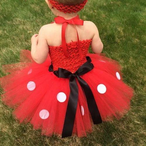 63110b1f6 Girls Net Minnie Mouse Baby Tutu Dress, Rs 2450 /set, Pink Blue ...