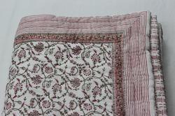 Handmade Cotton Quilt Razai