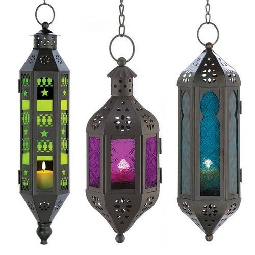 Iron Moroccan Hanging Lanterns