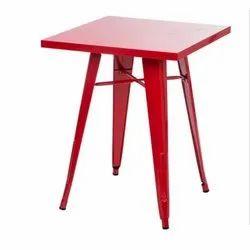 Iron Rectangular Bar Table