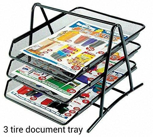 trays s clear office stackingventedorganizerstrays organizers tray x desk organizer drawer stackable