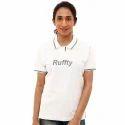 Ladies Half Sleeve Cotton T Shirt, Size: S, M & L