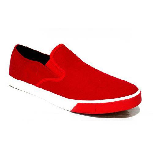 cdc65ea52f6 Red Comfort Loafer Shoes