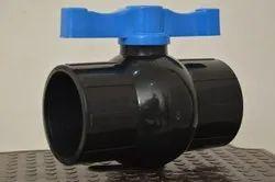 Gokul Short Handle PVC Solid Seal Ball Valves